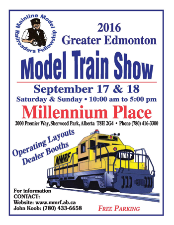 Great Edmonton Model Train Show 2016