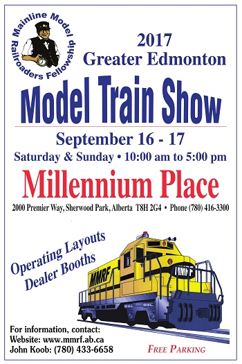 2017 Greater Edmonton Train Show