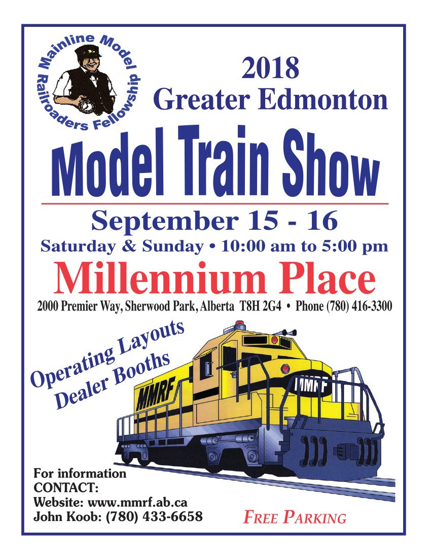 2018 Greater Edmonton Model Train Show