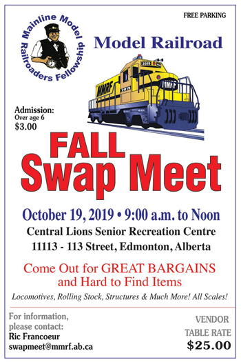 MMRF 2019 Fall Swap Meet