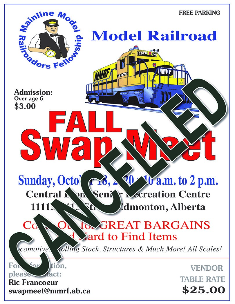 MMRF Fall Swap Meet